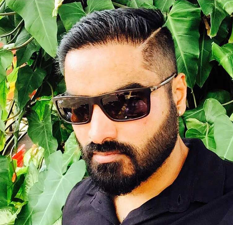Kannada actor Hair transplant results after 7 months